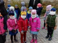 Тренировочная эвакуация детей и работников детского сада