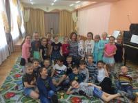 Встреча дошкольников с поэтессой Ириной Бондарь